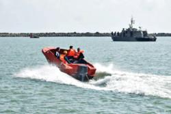 Rescue drill, oil spill response exercise in Astara port