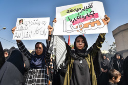 تشییع پیکر ۹ شهید گمنام در شیراز