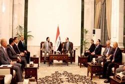 رایزنی نوری مالکی با رئیس پارلمان جدید عراق