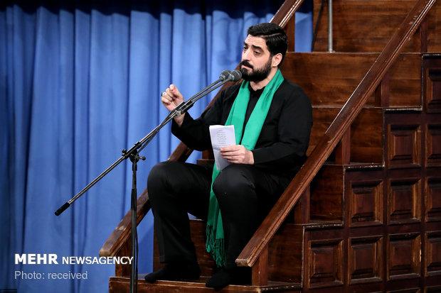 إقامة مراسم العزاء الحسيني بحضور قائد الثورة الاسلامية