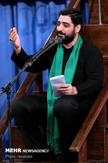 Leader attends Muharram mourning ceremony