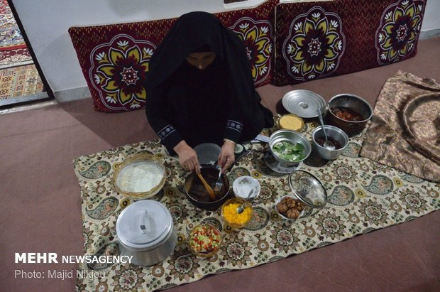 """طقوس محرم بقرى مازندران شمالي ايران ومراسم """"مجمع بلا"""""""