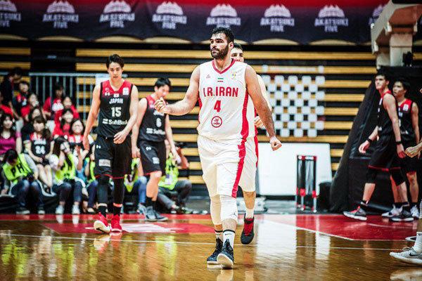 شکست تیم ملی بسکتبال مقابل ژاپن در مسیر انتخابی جامجهانی