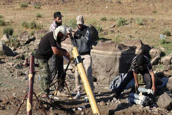 تداوم حملات خمپارهای تروریستها به منازل مسکونی در حومه حماه
