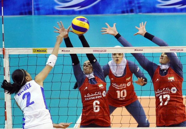 Iran finishes 8th at AVC Cup after losing to Australia