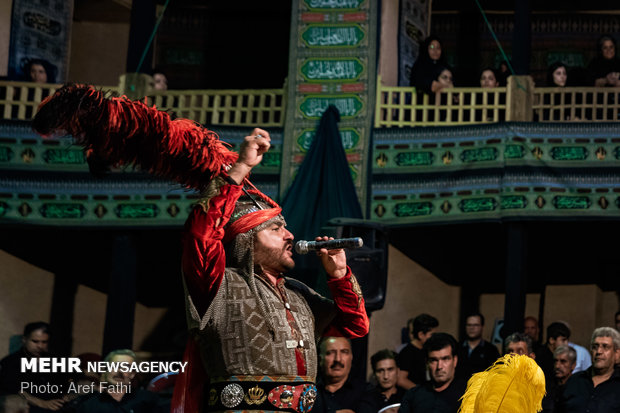 Performing Ta'zieh in Alborz province