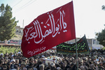 تشییع پیکر شهید احمد علی لکزایی در بیرجند