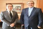 """السفير الإيراني في اليابان يبحث مع رئيس وكالة انباء """"كيودو"""" سبل تعزيز التعاون"""