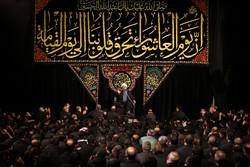"""الليلة الثامنة من مراسم العزاء الحسيني في مسجد """"ارك"""" في طهران /صور"""