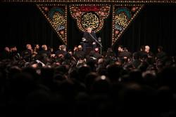 عزاداری  ایام محرم در مسجد ارک