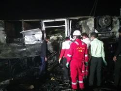 علت حادثه تصادف در اتوبان کاشان - نطنز مشخص نیست