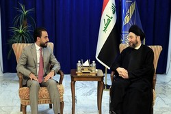 رایزنی «عمار حکیم» با رئیس جدید پارلمان عراق