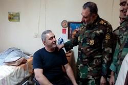 امیر حیدری از مرکز توانبخشی جانبازان شهید بهشتی بازدید کرد