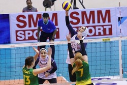 Unbeaten Iran sweeps Australia at AVC Women's Cup