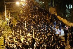 «حسینیه ایران» به سوگ نشست/برپایی قافله محرم به یاد سیدالشهدا