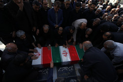 پیکر پدر شهیدان«لدنی»در مشهد تشییع شد