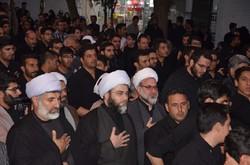 حضور رئیس سازمان تبلیغات اسلامی درجمع عزاداران حسینیه اعظم زنجان