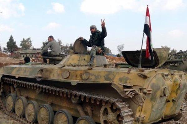 کوژرانی سەدان داعشی لە شەڕ لە گەڵ سوپای سووریا