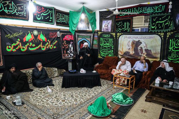 مراسم عرس القاسم (ع) في مدينة الاهواز