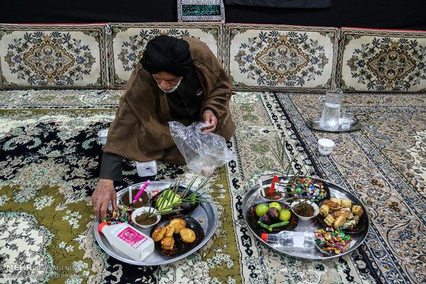 آیین سنتی سینی گردانی حضرت قاسم(ع)، در اهواز