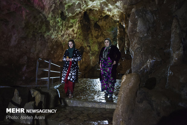Quri Qale Cave in Kermanshah