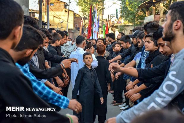 Camu ve Keşmir'de geleneksel yas töreni