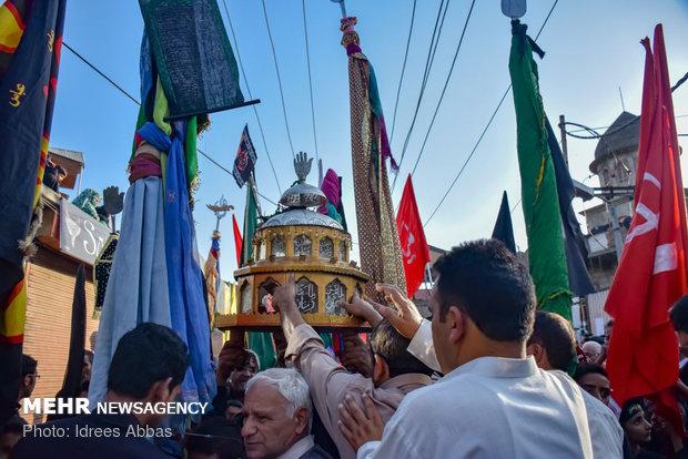 عزاداری ایام محرم در کشمیر هند