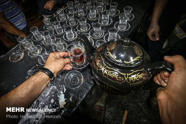 الشاي في المجالس الحسينية
