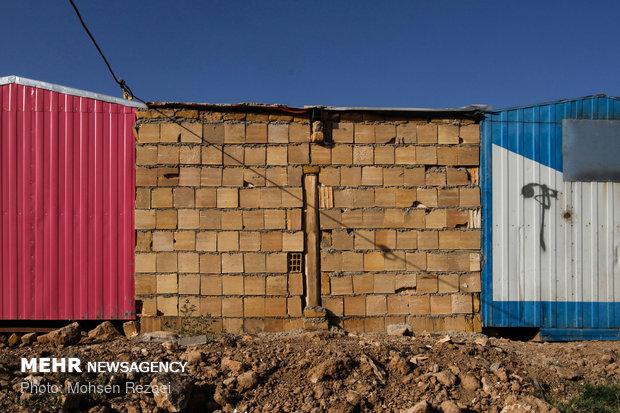 مناطق زلزله زده کرمانشاه پس از یک سال