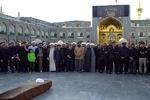 پیکر طلبه مشهدی در مشهد تشییع شد
