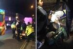 حمله با خودرو به تجمع عزاداران حسینی در لندن