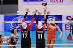 Iran falls short of China at AVC Women's Cup