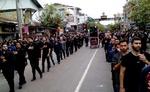 اعمال محدودیت تردد در مسیرهای حرکت هیئت های عزاداری در گیلان
