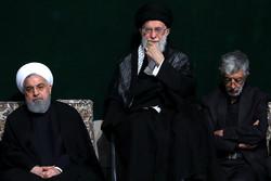 """İslam Devrimi Lideri'nin katılımıyla """"Tasua gecesi"""" töreni"""