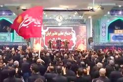 برگزاری مراسم عزاداری علمدار کربلا در مصلای اراک