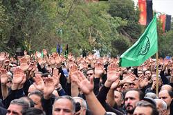 تاسوعای حسینی با شکوه خاصی در تاکستان برگزار شد