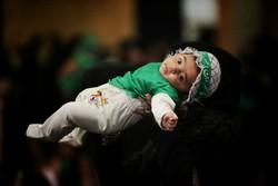 کارگاه دوخت لباس شیرخوارگان حسینی در مشهد مقدس افتتاح شد