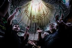 مراسم عزاداری روز تاسوعای حسینی در بازار تهران