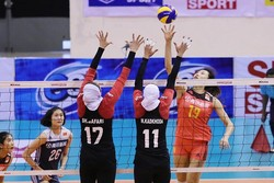 Iran falls short of China at AVC Women's Cup