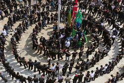 عزاداری تاسوعای حسینی در جزیره قشم