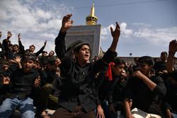 مراسم عزاداری روز تاسوعای حسینی در مشهد و قم