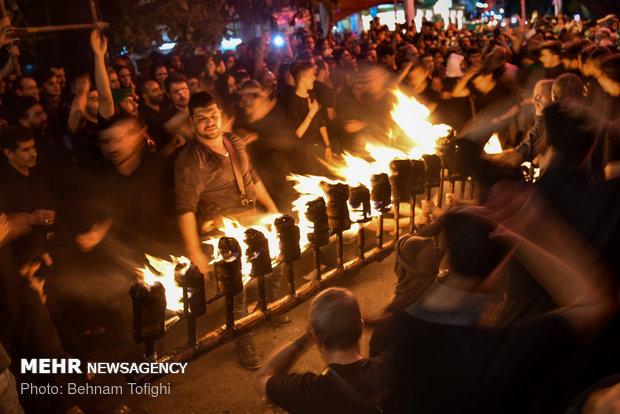 Iraqis' Muharram mourning ceremony in Tehran
