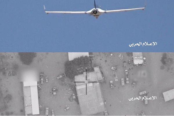 عملیات پهپاد «قاصف ۱» یمن علیه مواضع سعودیها
