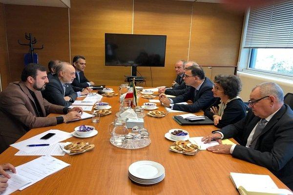 صالحي يلتقي رئيس لجنة الطاقة الذرية الفرنسية في فيينا
