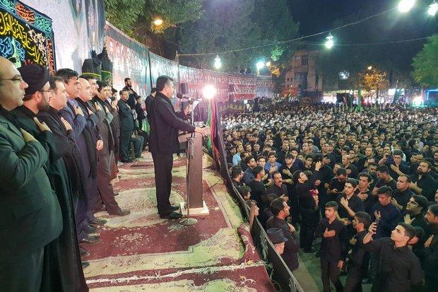 فلم/ خرم آباد میں انجمن حسینی  کی طرف سے عزاداری کا سلسلہ جاری