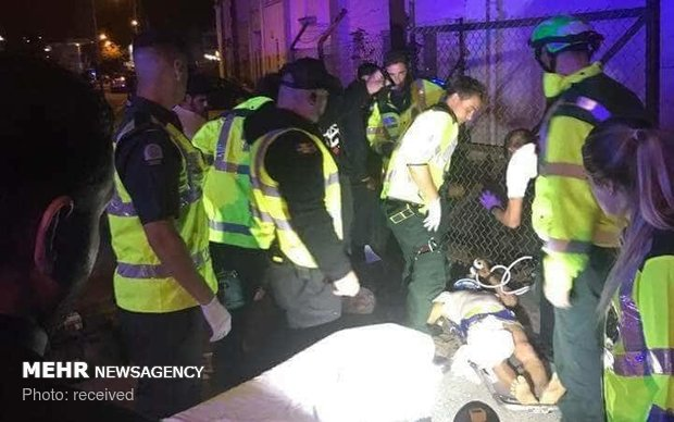 لندن میں حسینی عزاداروں  پر حملہ