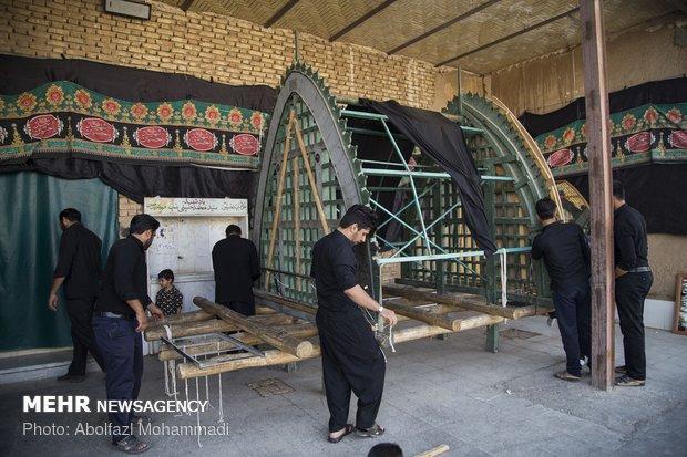 آیین سنتی نخل بندی در یزد
