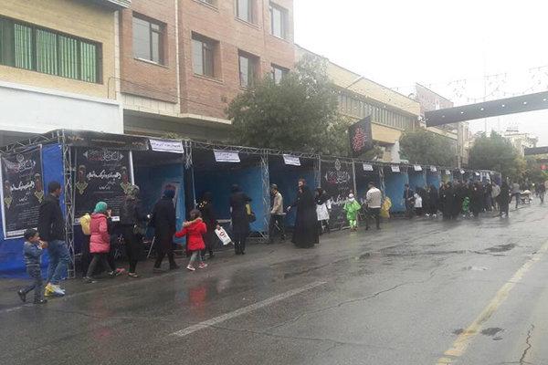 ۱۲ ایستگاه پرستاری و فرهنگ عاشورایی در اردبیل برپا شد