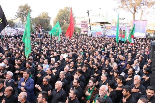 İran'da Kerbela matemi töreni