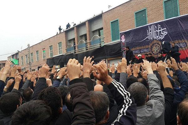 مظاهر العزاء الحسيني في ايران
